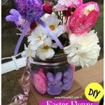 DIY Easter Flower Arrangement