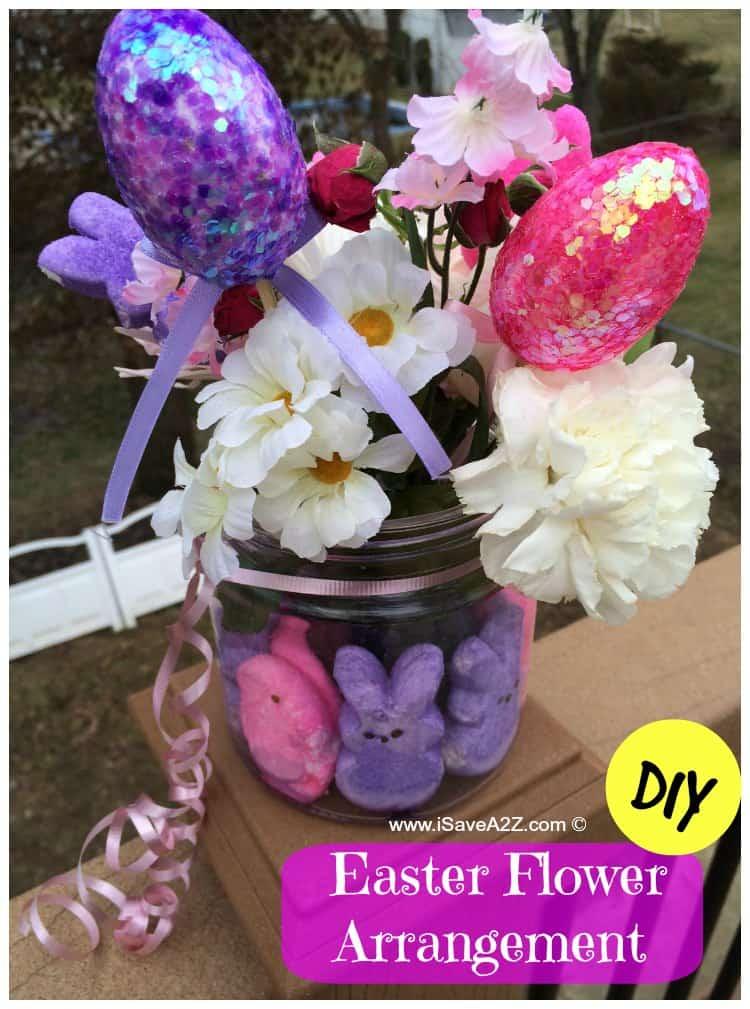 Diy easter flower arrangement isavea z
