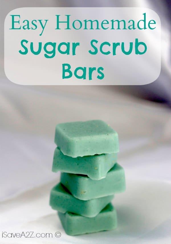 Easy Homemade Sugar Scrub Bars Isavea2z Com