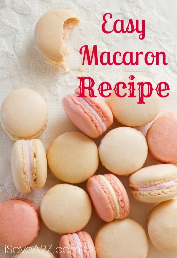 Easy Macaron Recipe Isavea2z Com