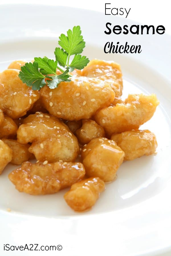 Easy Sesame Chicken Recipe It S Easier Than You Might Think
