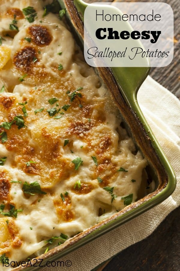 Homemade Cheesy Scalloped Potatoes Recipe Much Easier