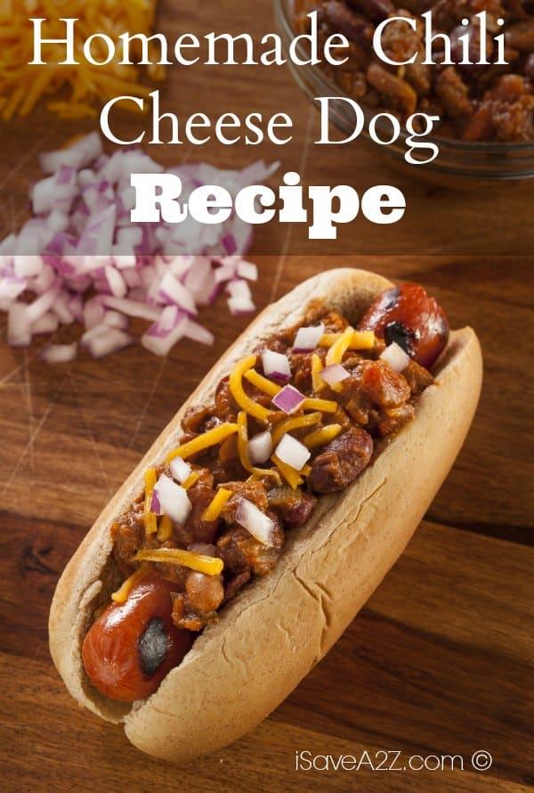 Homemade Chili Cheese Dog - iSaveA2Z.com