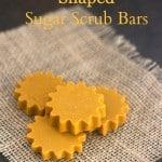 Homemade Sun Shaped Sugar Scrub Bars