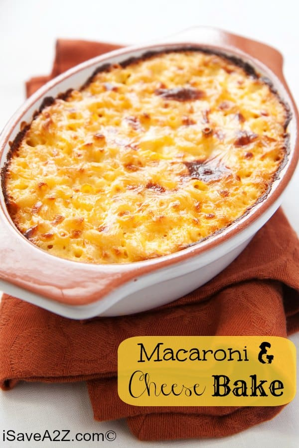 Macaroni And Cheese Bake Recipe You Can Make It Yourself In No Time