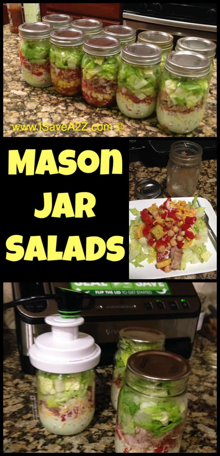 Mason Jar Salads Isavea2z Com