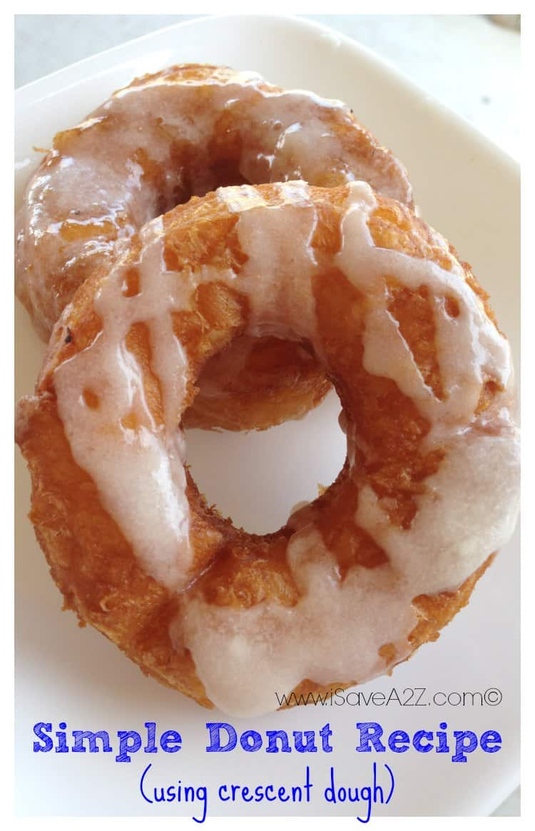 Simple Donut Recipe Isavea2z Com
