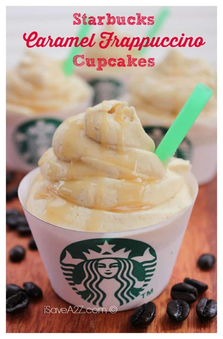 Easy Starbucks Caramel Frappuccino Cupcakes Recipe