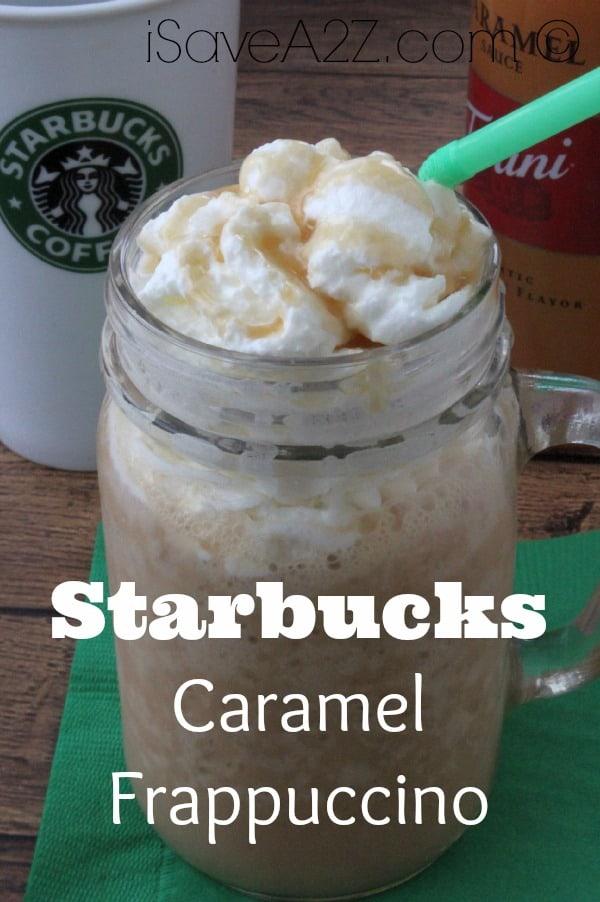 Starbucks Caramel Frappuccino - iSaveA2Z.com