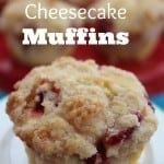 Strawberry Cheesecake Muffins