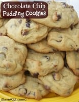 Easy Chocolate Chip Pudding Cookies