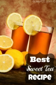 Best Sweet Tea Recipe