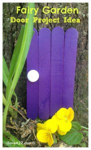 Fairy Garden Decorations: Fairy Door Craft Idea