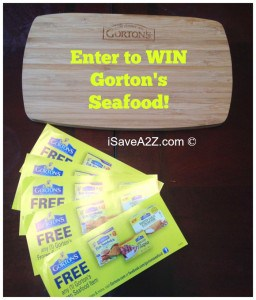 Gorton's Seafood and Giveaway