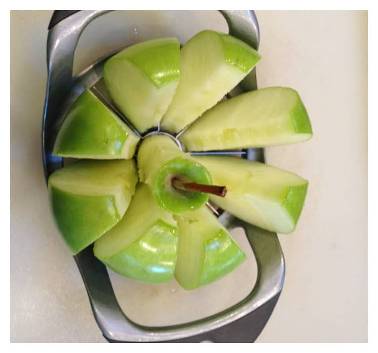 No Bake Twix Caramel Apple Salad Recipe #EatMoreBites #shop