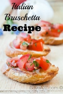 Italian Bruschetta Recipe