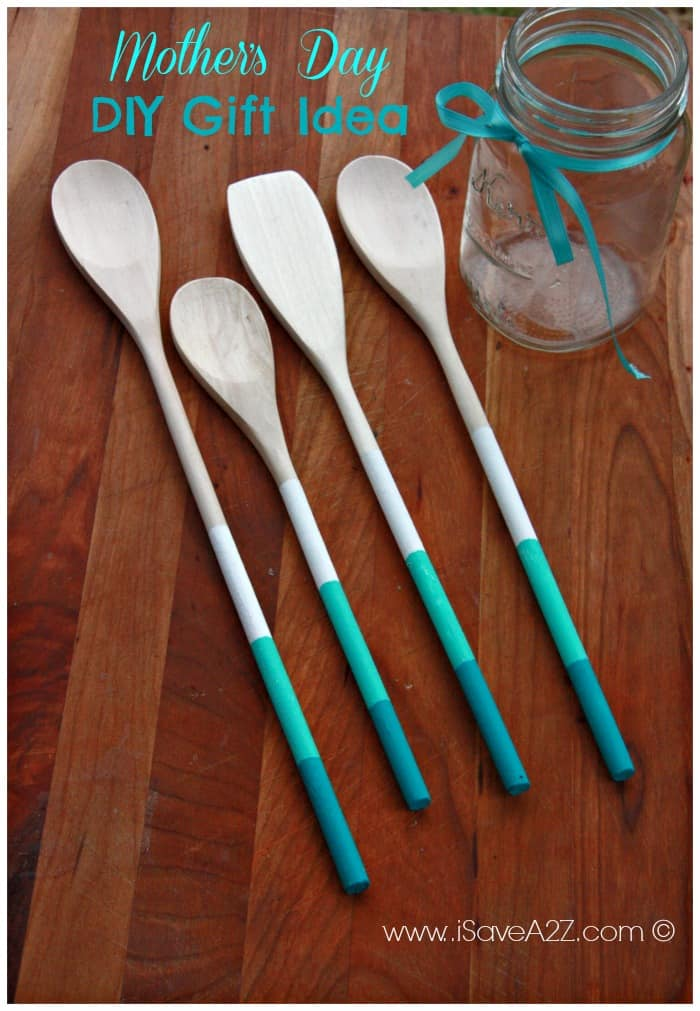 Painted Wooden Spoons Gift Idea Isavea2z Com
