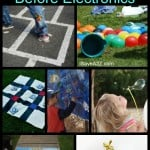 Old Time Summer Games and Activities for Kids