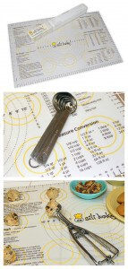 Sili Bake Pastry Mat with Measurements + a Giveaway!