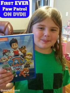 Paw Patrol DVD!! Available May 13, 2014!