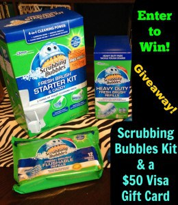 Scrubbing Bubbles Review + Giveaway