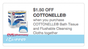 Cottonelle coupon