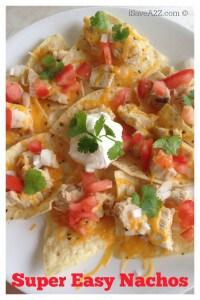 Super Easy Nachos Recipe #TysonMovieTicket