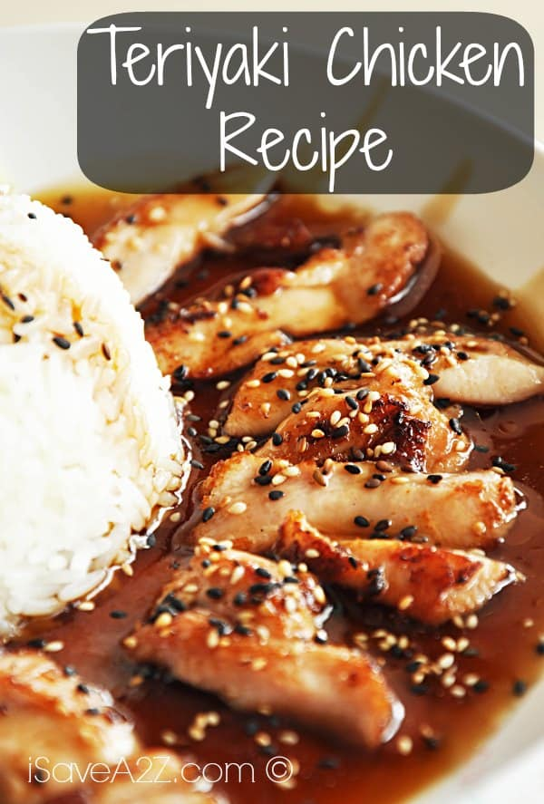Teriyaki Chicken Recipe - iSaveA2Z.com