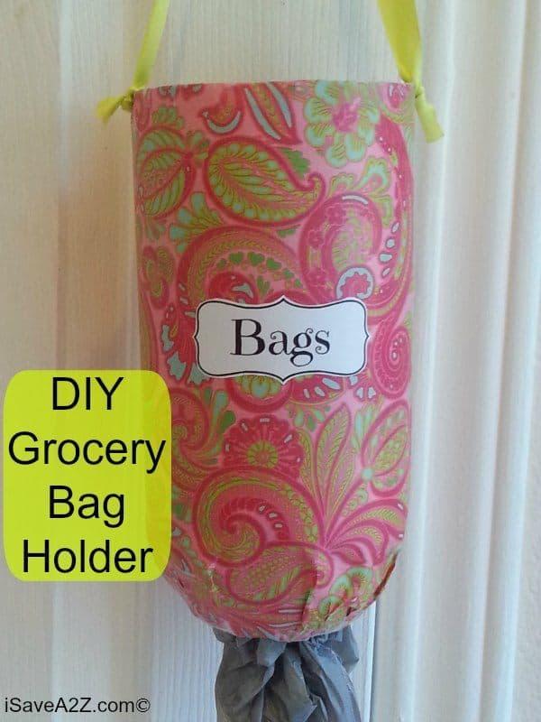 diy grocery bag holder