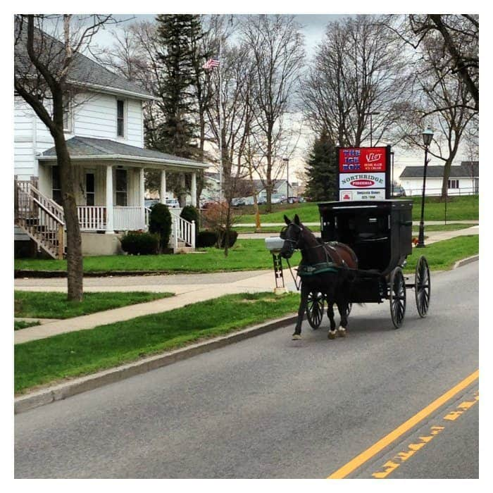 Amish is Middlebury Indiana