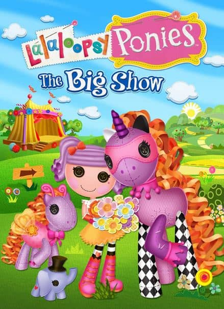 Lalaloopsy Ponies Review! Includes The Big Show Movie!