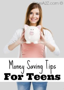 5 Money Saving Tips for Teens