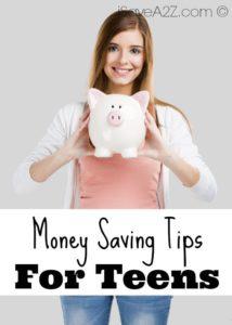 5 Money Saving Tips for Teens