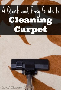 A Quick and Easy Guide to Cleaning Carpet