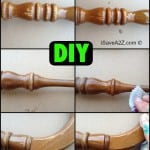 DIY Furniture Scratch Removal Trick