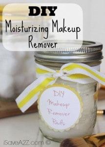 DIY Moisturizing Makeup Remover