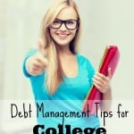 Debt Management Tips for College Students