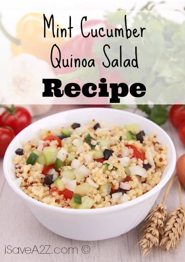Mint Cucumber Quinoa Salad
