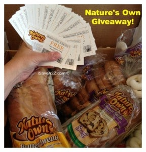 Nature's Own Bread Coupon Giveaway!