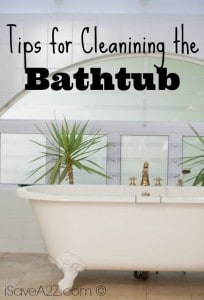 Tips for Cleanining the Bathtub