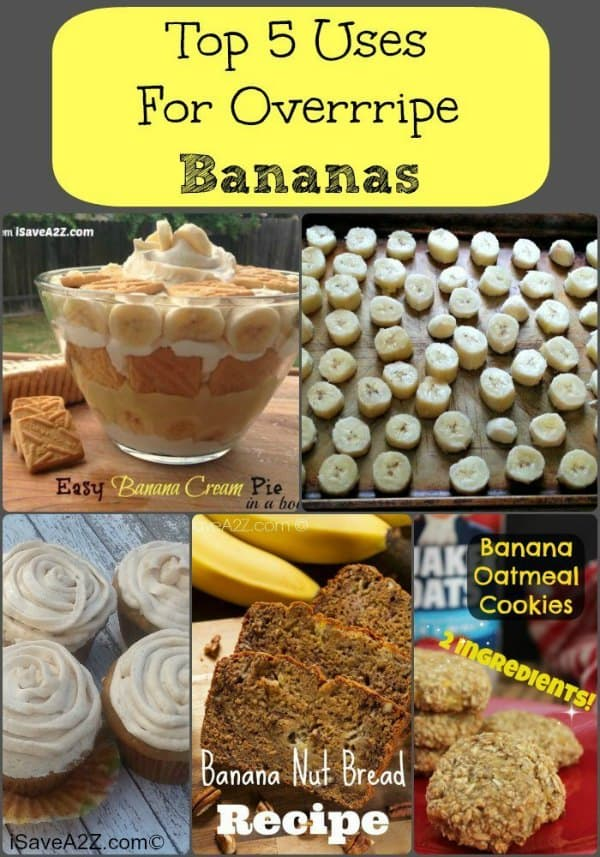 Overripe Bananas Here Are Our Top 5 Solutions