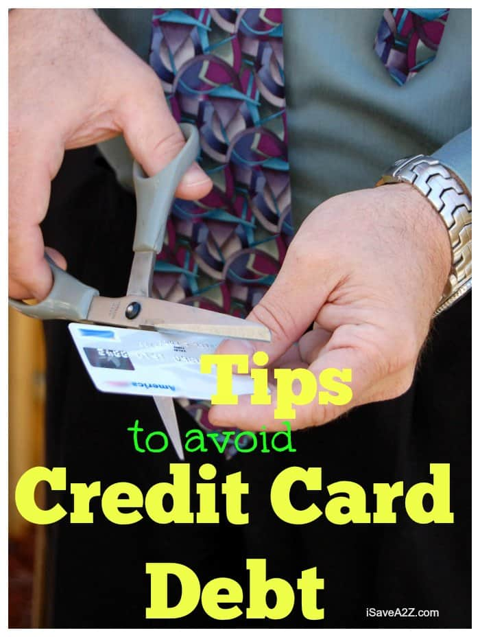 Tips to Avoid Credit Card Debt