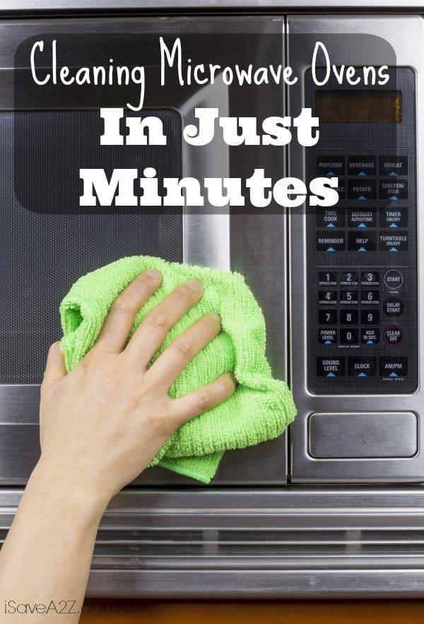 Cleaning microwave ovens in just minutes - Clean oven tray less minute ...