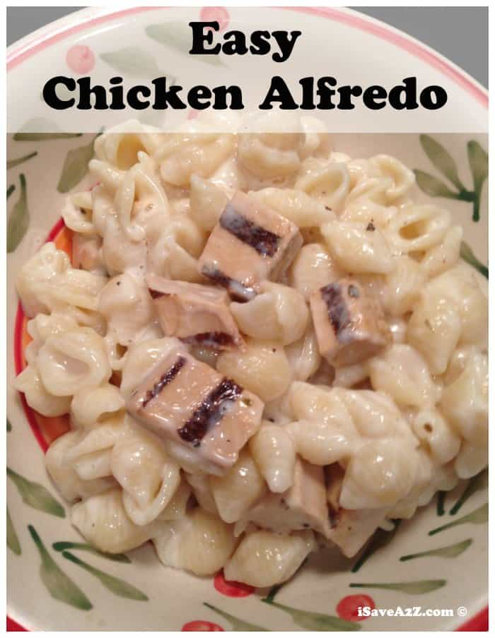 how to make chicken alfredo easy