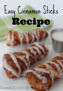 Easy Cinnamon Sticks