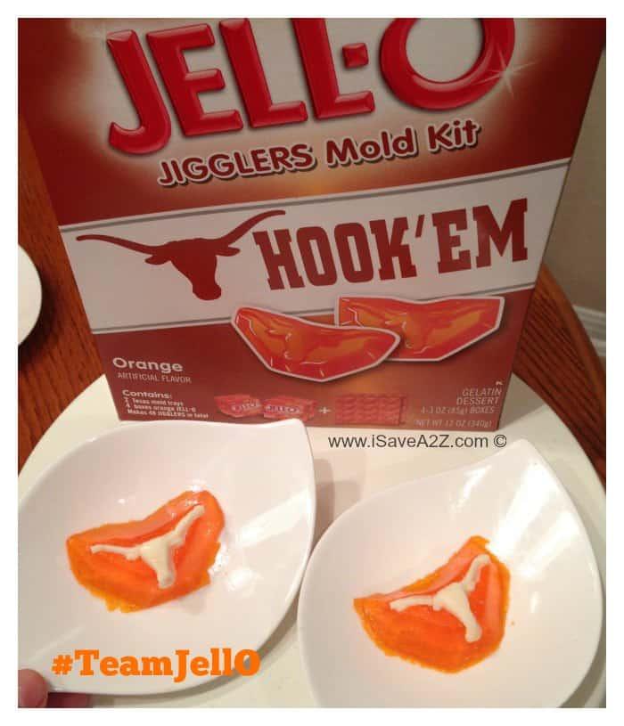 Game day food: UT Austin Longhorn Jell-O Jigglers # ...