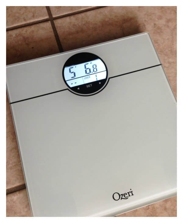 Review Bathroom Scales: Ozeri WeightMaster Digital Bath Scale Review