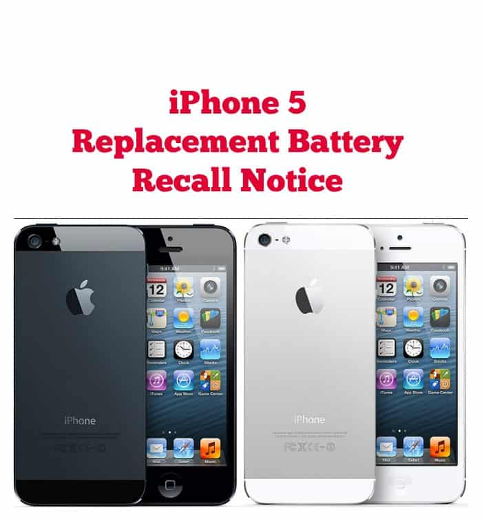 Iphone  Battery Recall