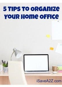 5 Tips to Organize Your Home Office