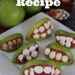 Halloween Apple Monster Mouths